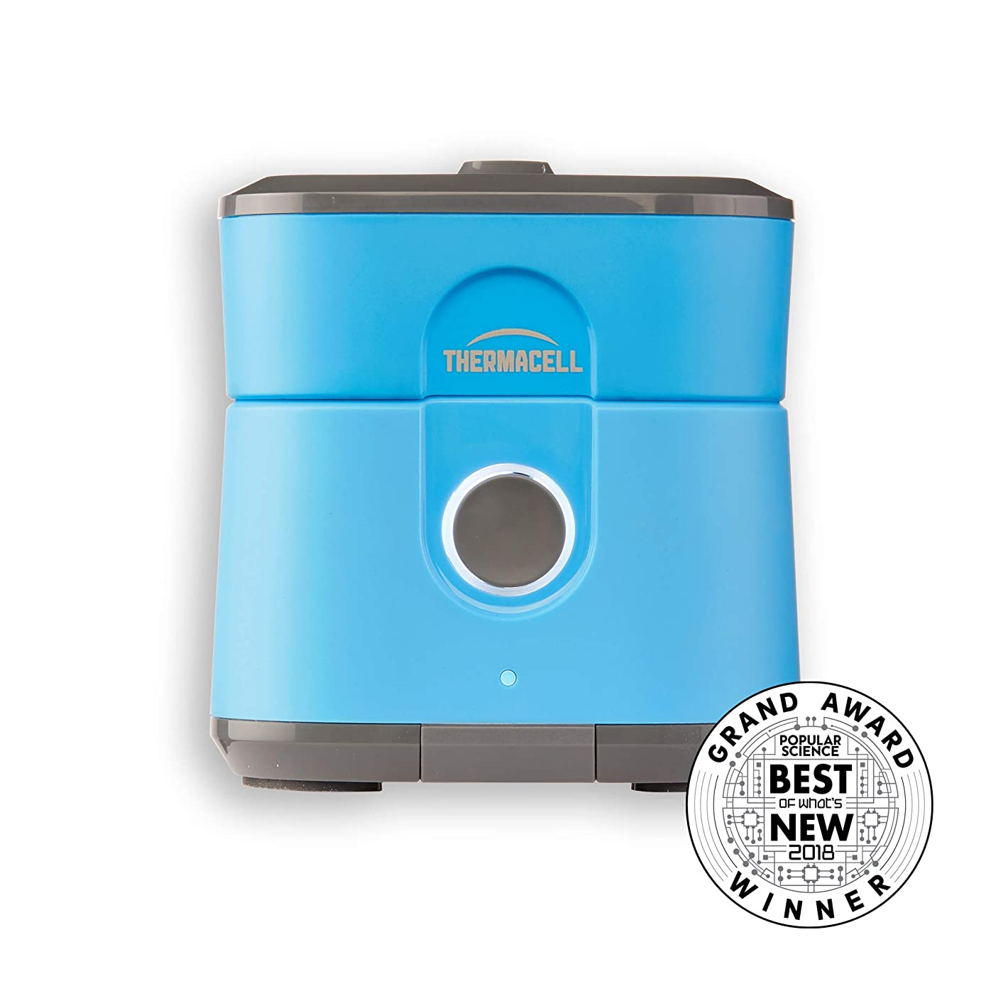 Thermacell Radius Zone Mosquito Repeller from, Gen 2.0, Blue; No Spray Mosquito Repellent; Rechargeable; Protect Outdoor Areas from Insects for 6.5+ Hours Per Charge; Easy to Use, Scent and DEET-Free