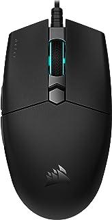 Corsair KATAR PRO XT Ratón ligero Gaming, Forma Simétrica, para agarre tipo garra o tipo punta de dedos, Botones con Resor...