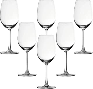 Ocean 015R15 Madison Wine Glass, Pack of 6, Clear, 425 ml, W 81.0 x H 224.0 x D 64.0 mm, Glass