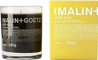 Malin + Goetz Dark Rum Candle – Dark & Spicy Aroma Fragrance Scent, Natural Wax Blend, Traditional Bay Rum Inspired, Vegan...