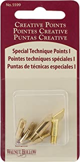 Walnut Hollow Replacement Points Tips for Woodburners and Hot Tools, Set No.1