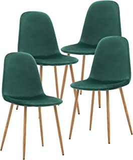 Amazon Com Kitchen Dining Room Chairs Green Chairs Kitchen Dining Room Furniture Home Kitchen