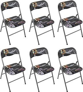Amazon.it: 6 Sedie pieghevoli Poltrone e sedie: Casa e