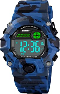 Kid Watch for Boys Girls LED Sports Watch Waterproof...