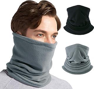 Sponsored Ad – JOEYOUNG Fleece Neck Warmer Gaiter [2 Pack/ 1 Pack] - Windproof Face Mask for Men & Women for Outdoor Ski R...