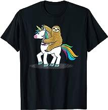 Best sloth riding a unicorn t shirt Reviews