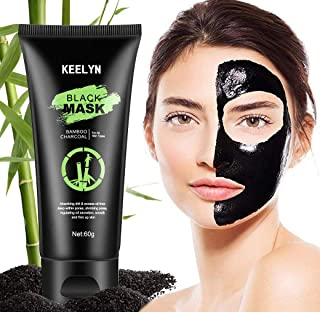 Keelyn Blackhead Remover Mask, Black Mask, Charcoal Peel Off Mask, Blackhead Removal Tool Purifying and Deep Cleansing Pore Strips for Face and Nose