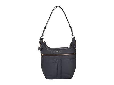 Radley London Kensal Large Zip Top Hobo (Ink) Hobo Handbags