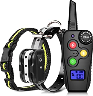 Ankace Training Collar for Dogs with Remote Dog Training Collar Rechargeable No Bark Collar with Remote Collar Waterproof Collar for Small Medium Large Dog
