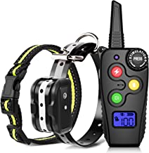 Ankace Training Collar for Dogs with Remote Dog Training Collar Rechargeable No Bark..