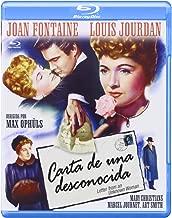 Carta De Una Desconocida [Blu-ray] [Blu-ray] [1948]