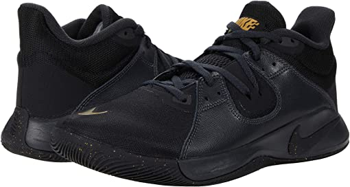 Black/Metallic Gold/Dark Smoke Grey