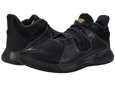 Nike Fly.By Mid (Black/Metallic Gold/Dark Smoke Grey) Men
