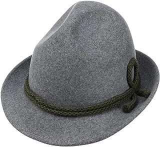 Lipodo Tricorno Feltro di Lana Cappello Classico - Cappello Tradizionale da Uomo - Cappello Tirolese Made in Italy - Cappe...