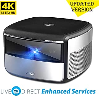 CACACOL X3 Compatible with Philips Screeneo S6 Android 3D Smart TV Projector | Native 4K UHD | 1500 ANSI Lumens | MEMC HDR10 HLG | Hi-Fi Stereo Speaker