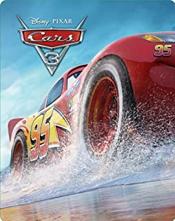 Carros 3 3D+[Blu-ray] Duplo Steelbook