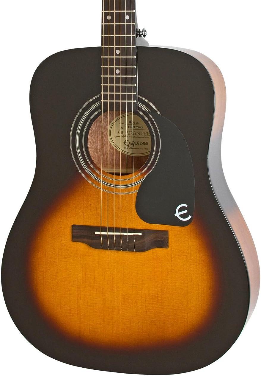 近似美容師専門Epiphone エピフォン Pro-1 アコースティックギター system for Beginners, Gloss Vintage Sunburst Finish アコースティックギター アコギ ギター (並行輸入)