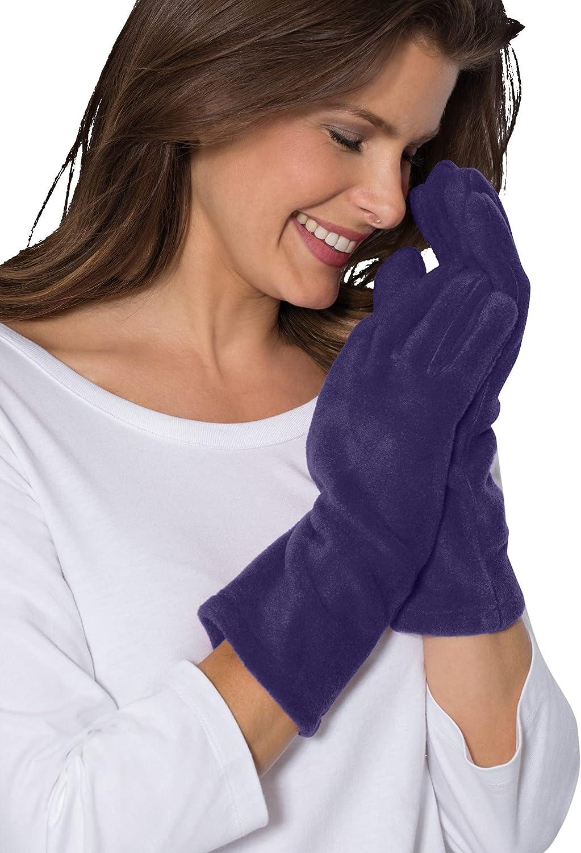 Roamans Women's Plus Size Fleece Gloves