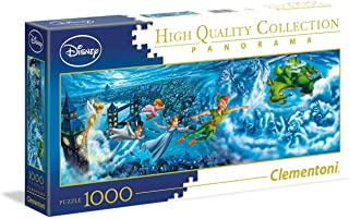Clementoni 39448 Disney Panorama Collection Clementoni-39448-Disney Panorama Collection-Peter Pan-1000 Pieces, Multi-Colour