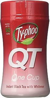 Typhoo QT Instant Black Tea with Whitener - (125g)