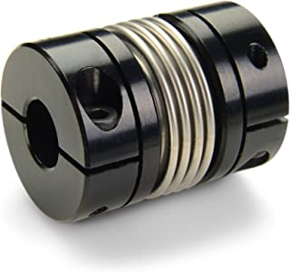30.2 mm Length Ruland MBC19-8-6-A 2024 or 7075 Aluminum Hubs Bellows Coupling 19.1 mm OD 8 mm x 6 mm Bores Clamp Style