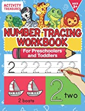Number Tracing Workbook For Preschoolers And Toddlers: A Fun Number Practice Workbook To Learn The Numbers From 0 To 30 For Preschoolers & … Exercises For Ages 3-5. (Writing Practice) PDF
