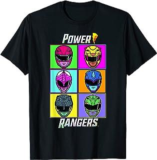 Power Rangers Pop Art Box Up T-Shirt