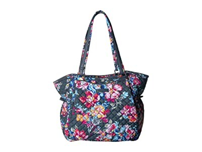 Vera Bradley Iconic Glenna Satchel (Pretty Posies) Bags
