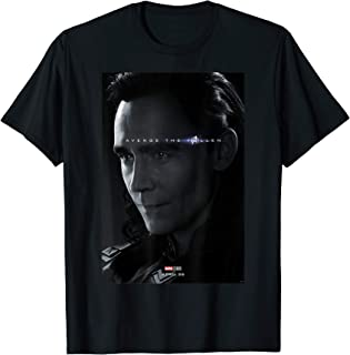 Marvel Avengers Endgame Loki Avenge The Fallen Poster T-Shirt