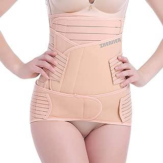 ZHENJIER 3 in 1 Postpartum Support - Recovery Belly/Waist/Pelvis Belt Shapewear