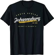 Johannesburg Travel South Africa T-shirt