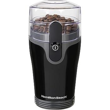 Hamilton Beach 80335R Fresh-Grind - Molinillo de café, color negro