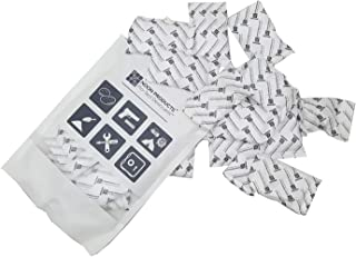 15 Gram Silica Gel Desiccant Packets (25 Pack) ; Perfect for Hand Gun Safes, Document Safes, Storage and More; Ready to Use, Conforms to MIL-D-3463E Type I & Type II Silica Standards