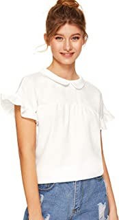 white sailor top