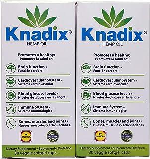 Knadix Hemp Oil Capsules (Pack of 2)