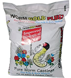Worm Gold Plus 8010 Pure Worm Castings, 8-Quart