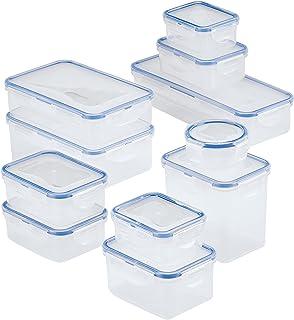 qwertyuiop Ensemble de Stockage des Aliments, Rangement en Plastique, pour ustensiles de Cuisine pour l'organisation et Le...