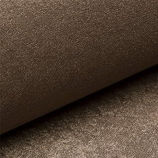 Elegant Platinum Möbelstoff, leichter Glanz, Polsterstoff Möbel Sitzbezug Stoff, Meterware - Braun 25