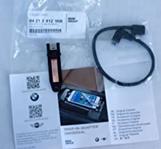 EuroActive BMW OEM iPhone Lightning Type I Universal Snap-in Adapter for Snap-in Adapter