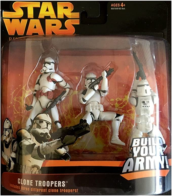 """5Pcs Red Lightsabers Weapon for 3.75/"""" Star War Clone Troopers Saga Figure Toys"""