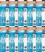 10 Stück Osram Halopin Halogen-Stiftsockellampe 230V G9 (48 Watt)