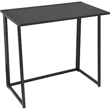 Urban Shop Folding Writing Desk, Black