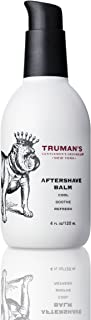 Truman's Gentlemen's Groomers Men's Aftershave Balm, Soothing & Moisturizing for Smooth, Hydrated Skin, 4 fl. oz.