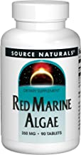 Source Naturals Red Marine Algae 350mg Superfood Packed With Minerals & Vitamins - 90 Tablets