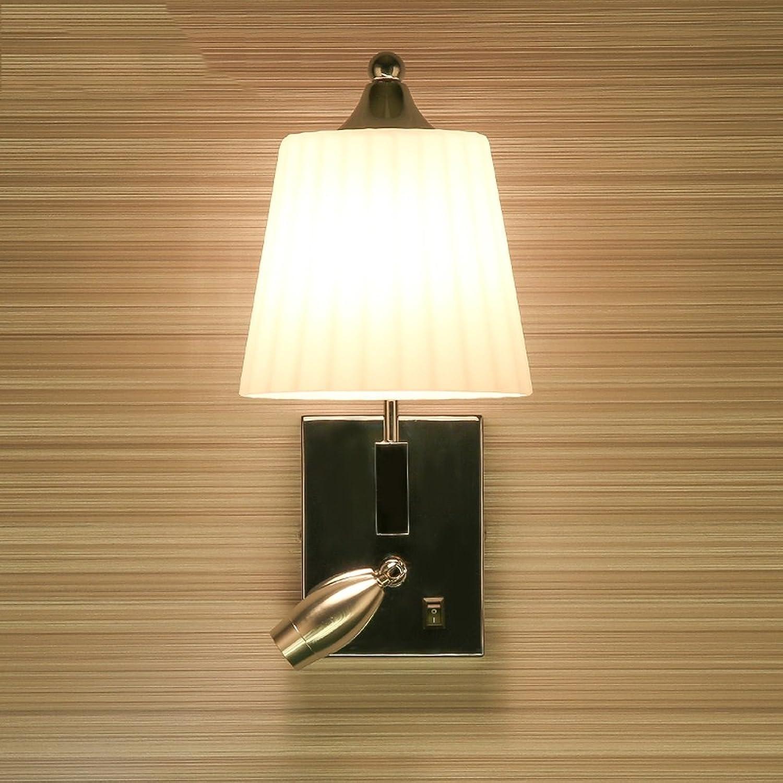 Wandleuchte Moderne minimalistische Wohnzimmer Gang Schlafzimmer Nachttischlampe Wandleuchte Einstellbarer Winkel LED Spotlight E14