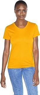 American Apparel Women's 50/50 Classic Crewneck Short Sleeve T-Shirt