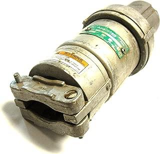 Appleton ACP1044CD 100 Amp Clamping Ring Plug, 4-Pole, 4-Wire