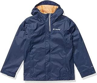 Boys' Big Watertight Jacket, Waterproof and Breathable, Collegiate Navy, M