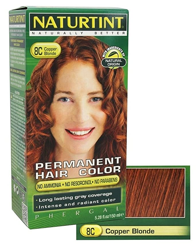 動混乱したラテンNaturtint Permanent Hair Colorant Copper Blonde 5.98 oz ?????