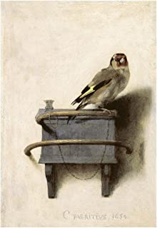 McGaw Graphics The The Goldfinch, 1654 by Carel Fabritius Painting Print